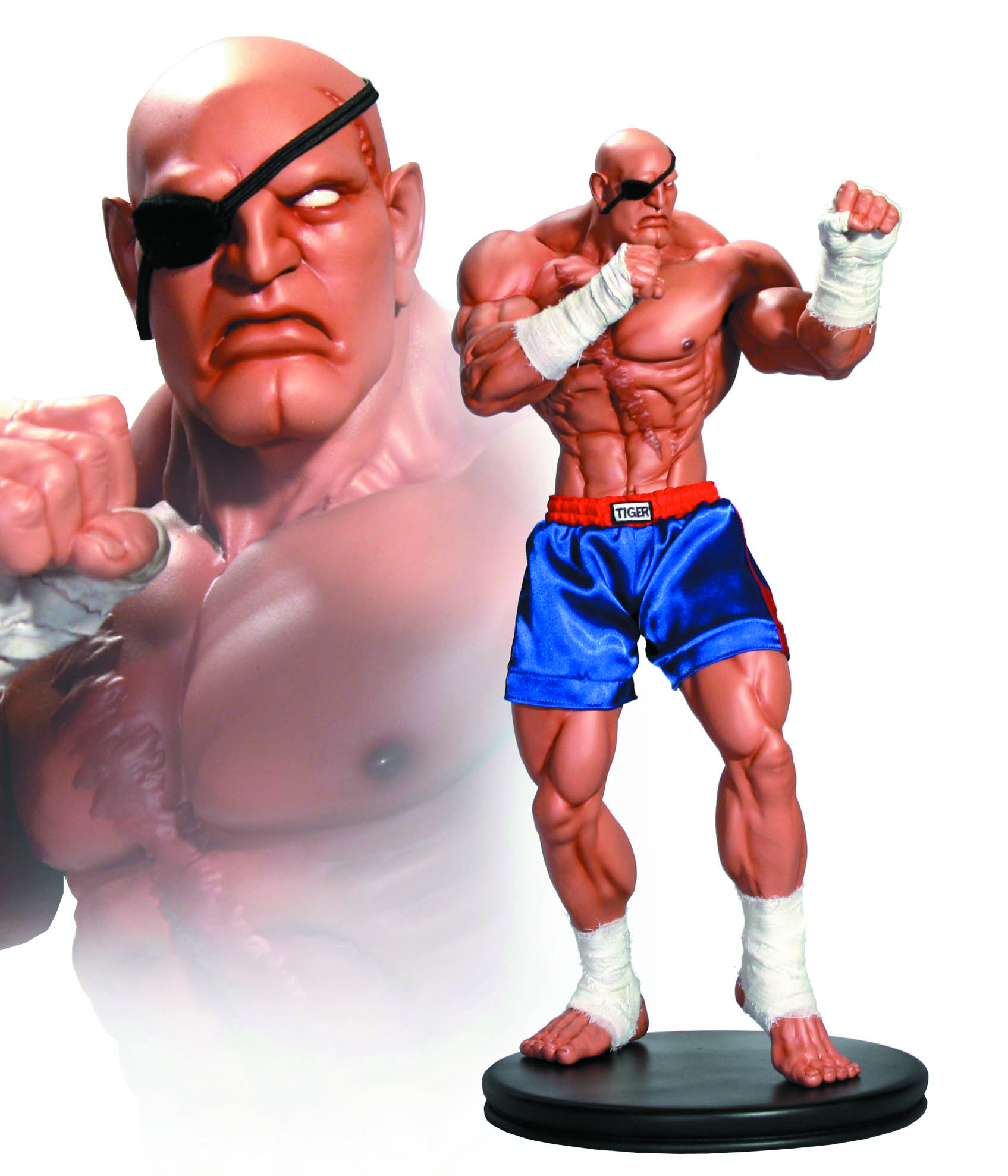STREET FIGHTER 1/4 SCALE SAGAT STATUE