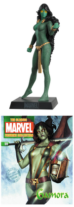 CLASSIC MARVEL FIG COLL MAG #189 GAMORA