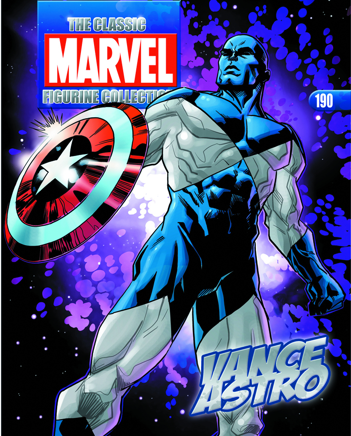 CLASSIC MARVEL FIG COLL MAG #190 VANCE ASTRO