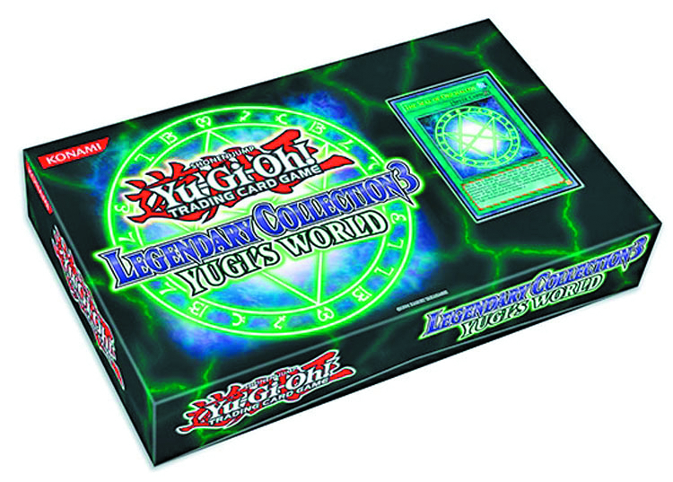 YU GI OH TCG LEGENDARY COLLECTION 3 CASE YUGIS WORLD