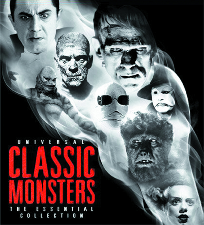 UNIVERSAL CLASSIC MONSTERS ESS COLL BD