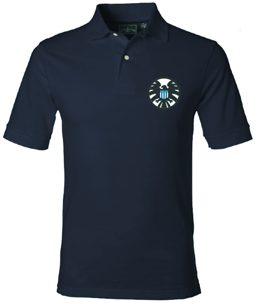 MARVEL CLASSIC SHIELD LOGO PX POLO MED