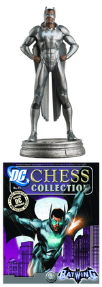 DC SUPERHERO CHESS FIG COLL MAG #23 BATWING WHITE PAWN