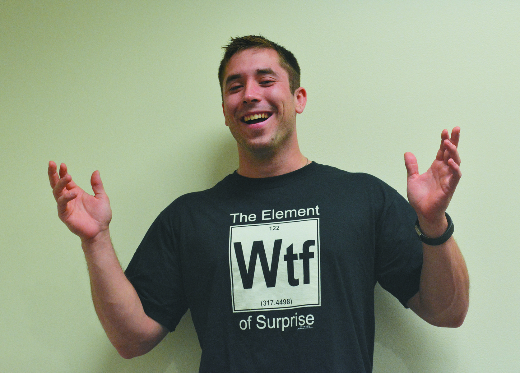 ELEMENT OF SURPRISE BLK T/S XXL