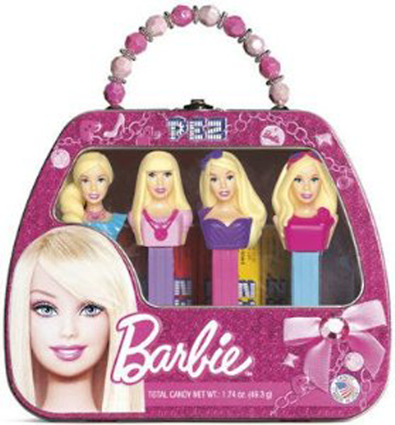 PEZ BARBIE GIFT SET