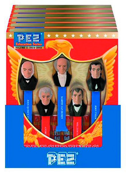 PEZ PRESIDENTS OF THE US VOLUME II