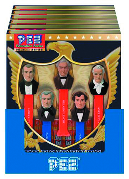 PEZ PRESIDENTS OF THE US VOLUME III