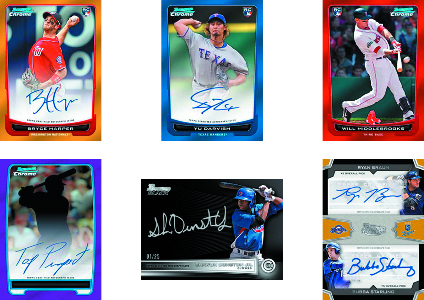 BOWMAN 2012 DRAFT PICKS & PROSPECTS BASEBALL T/C BOX