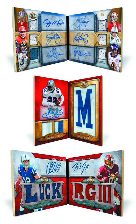 TOPPS 2012 TRIPLE THREADS FOOTBALL T/C BOX