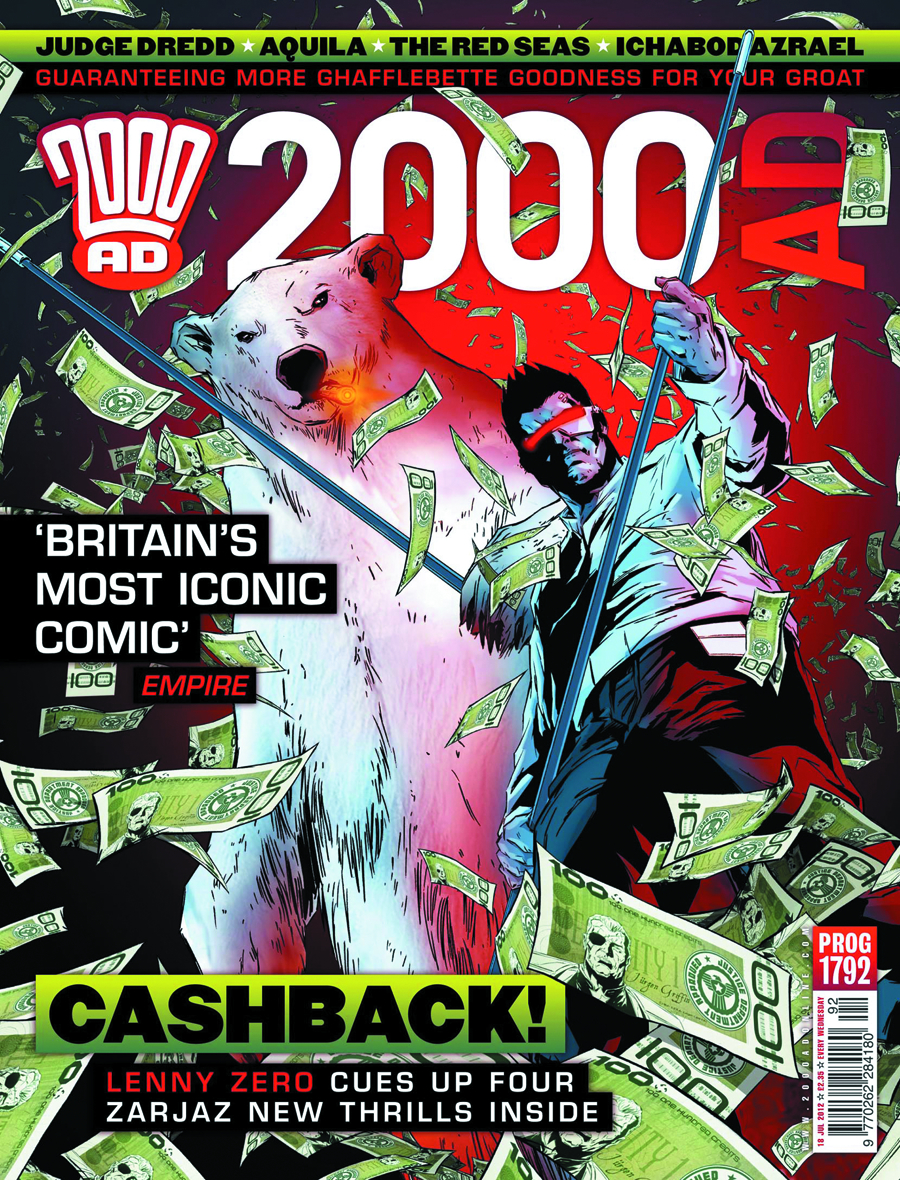 2000 AD PACK NOV 2012 #1808-1811