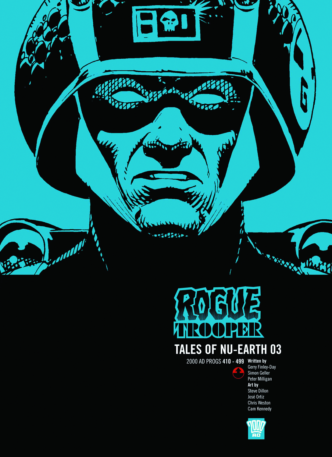 ROGUE TROOPER TALES OF NU EARTH GN VOL 03