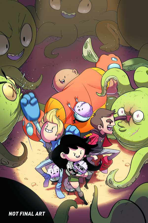 BRAVEST WARRIORS #2 MAIN CVRS