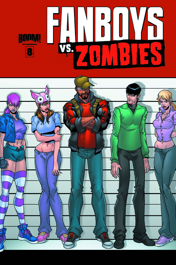 FANBOYS VS ZOMBIES #8 MAIN CVRS