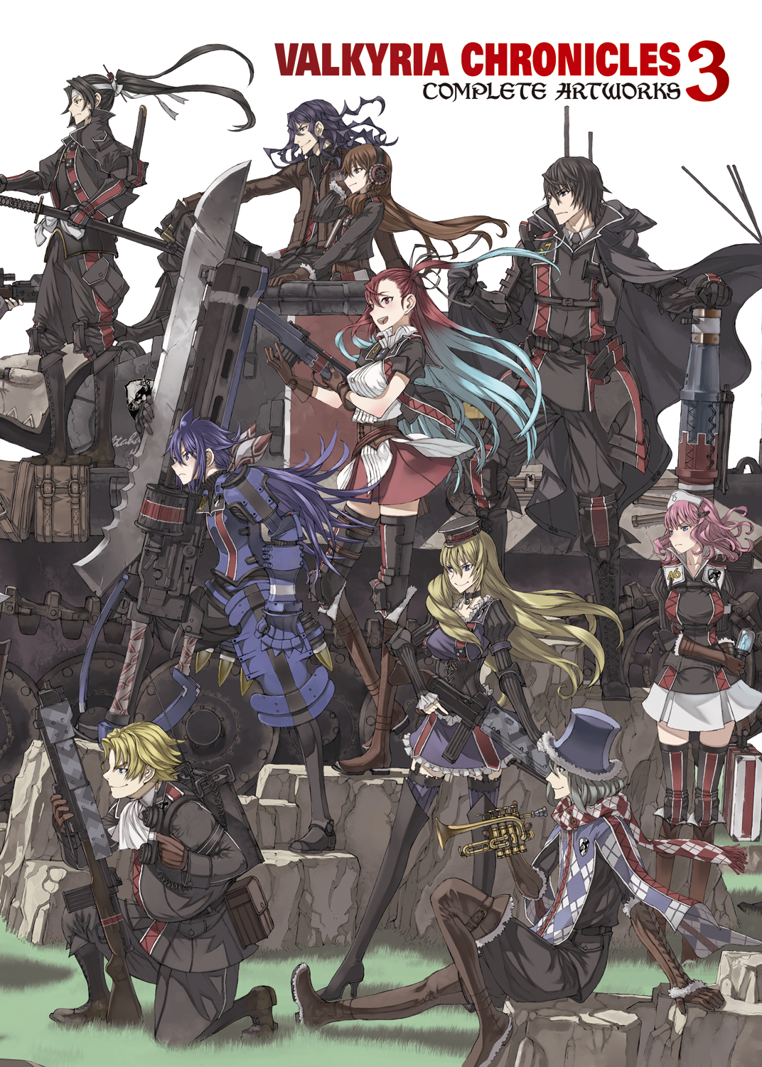 VALKYRIA CHRONICLES SC VOL 03 COMP ARTWORKS