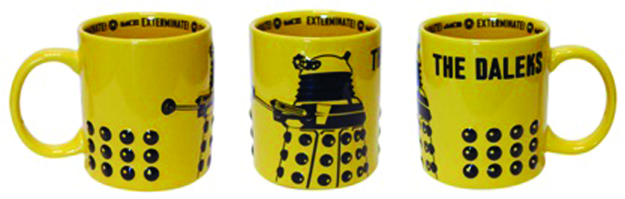 DOCTOR WHO 2D RELIEF CERAMIC DALEK MUG