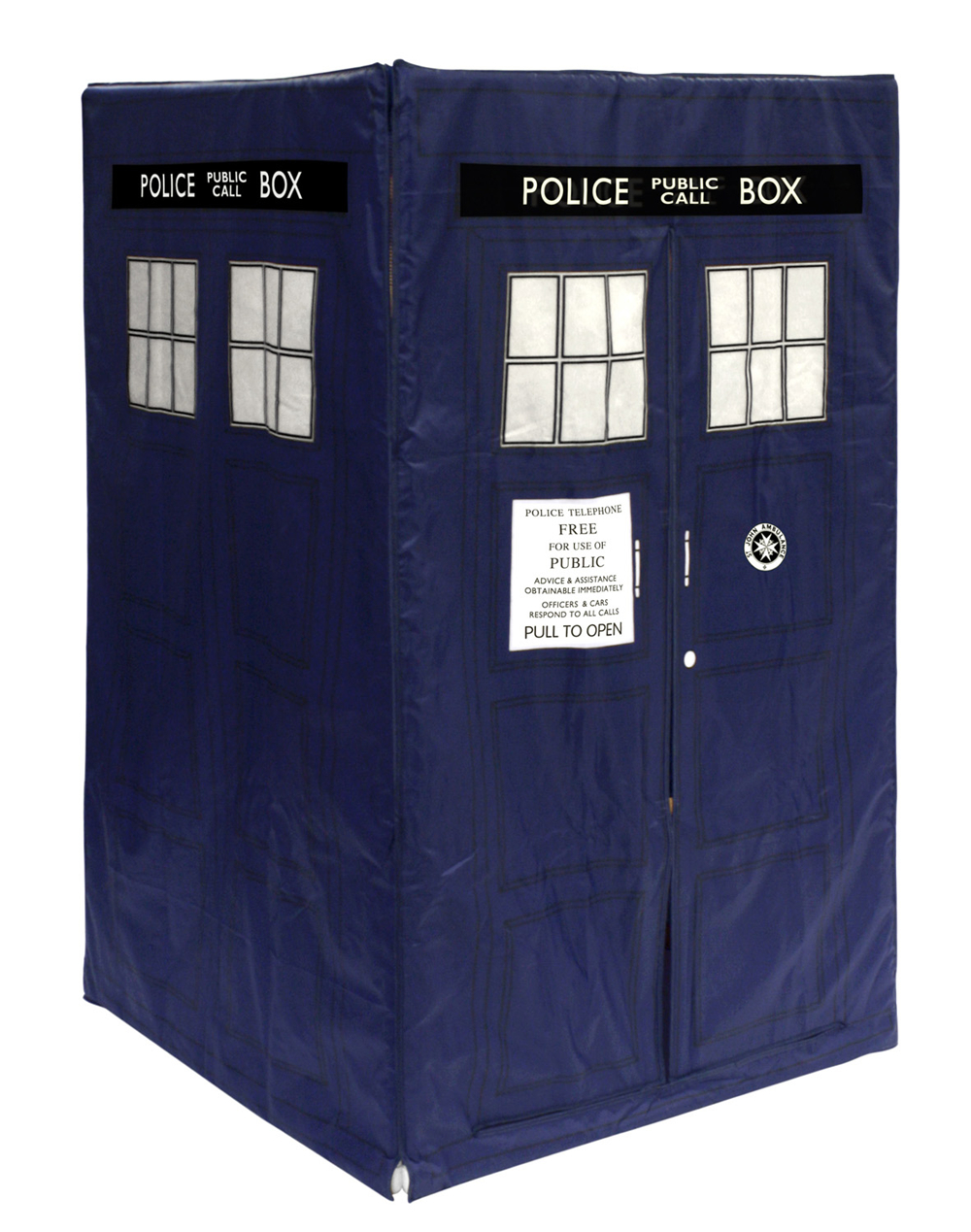DOCTOR WHO EXPANDING TARDIS TENT