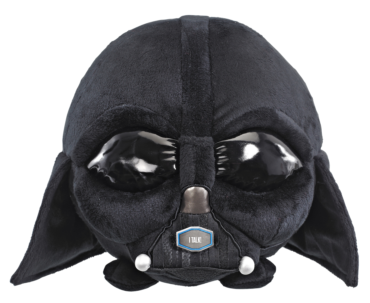SW DARTH VADER 7IN TALKING PLUSH BALL