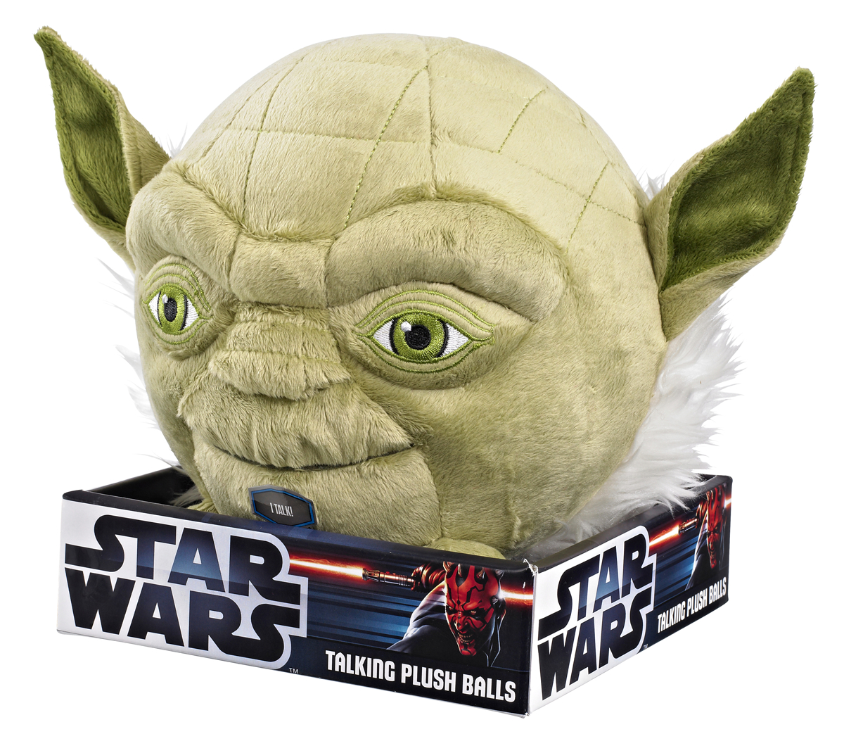 SW YODA 7IN TALKING PLUSH BALL
