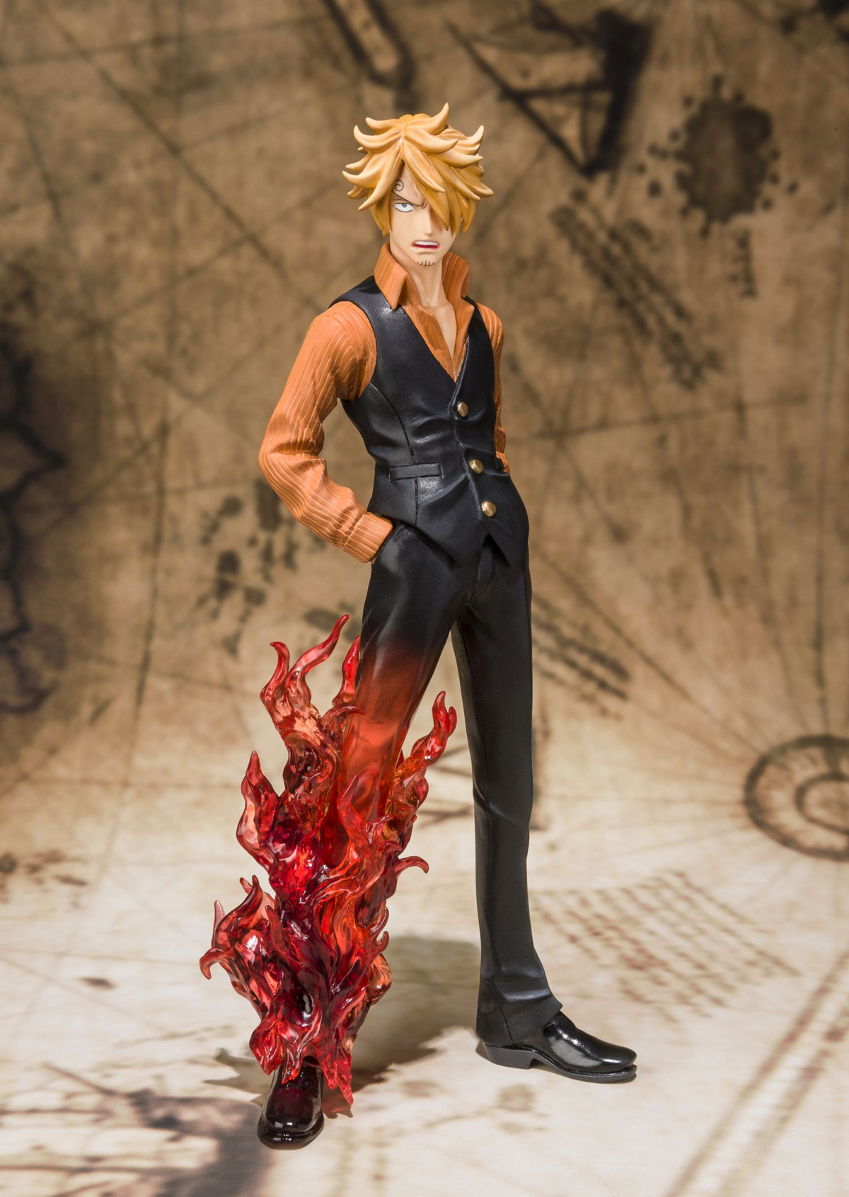 ONE PIECE SANJI FIGUARTS ZERO FIG BATTLE VER