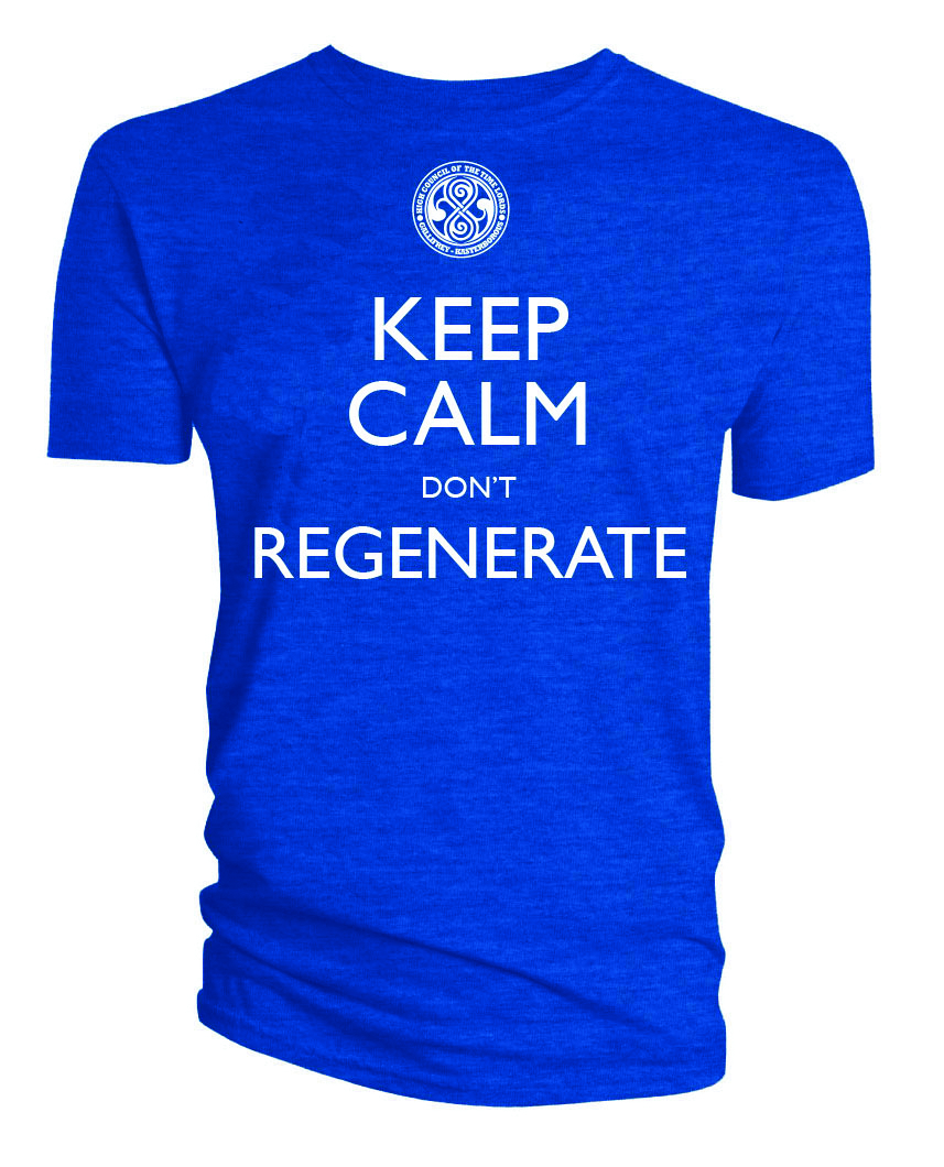 DW KEEP CALM DONT REGENERATE T/S XL