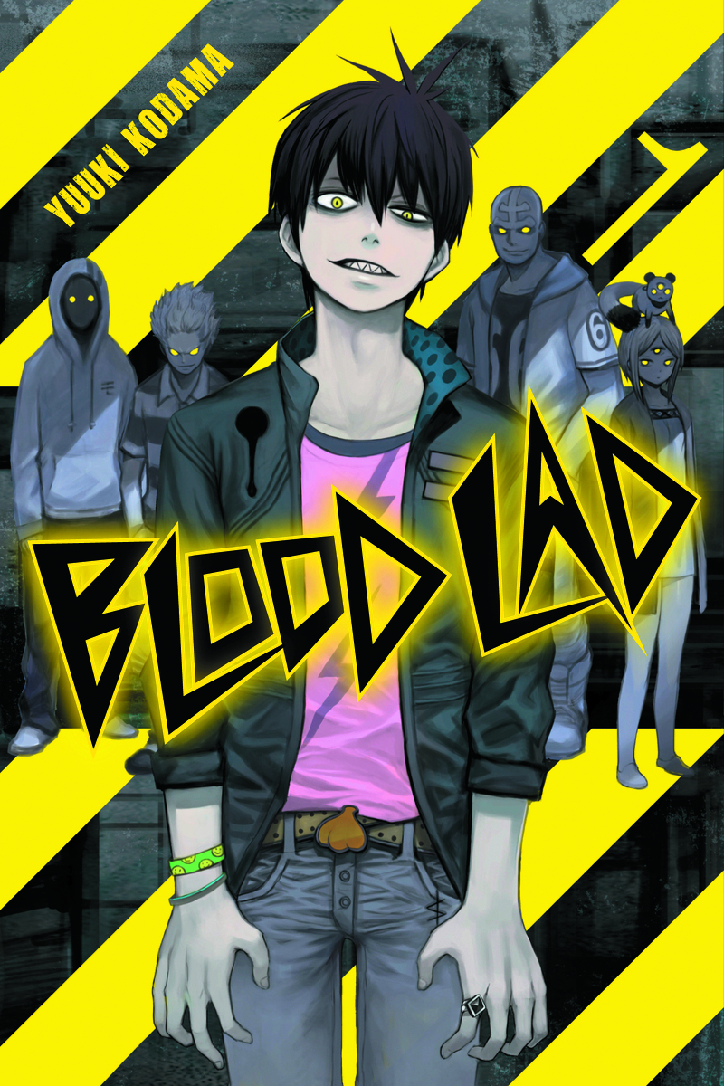 (USE SEP138117) BLOOD LAD OMNIBUS GN VOL 01