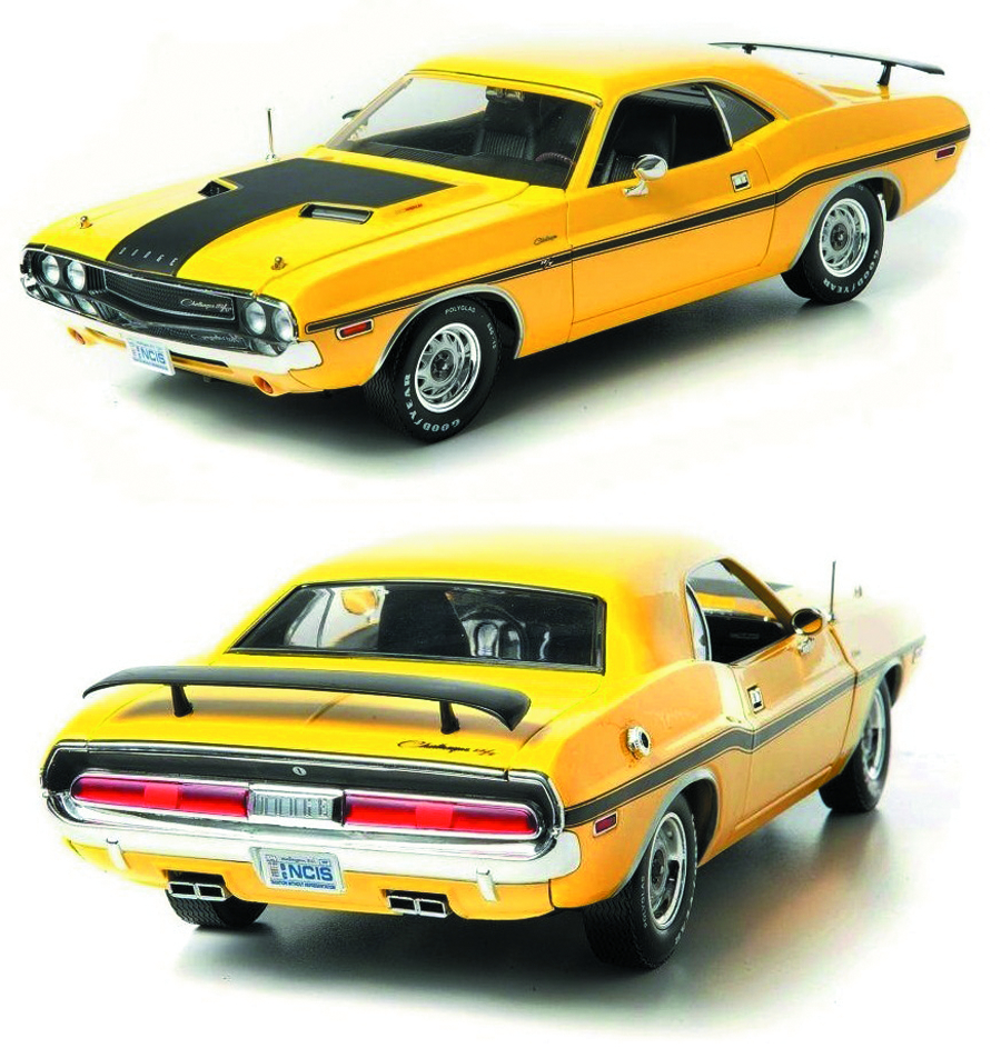 NCIS 1/18 1970 DODGE CHALLENGER R/T DIE-CAST CAR