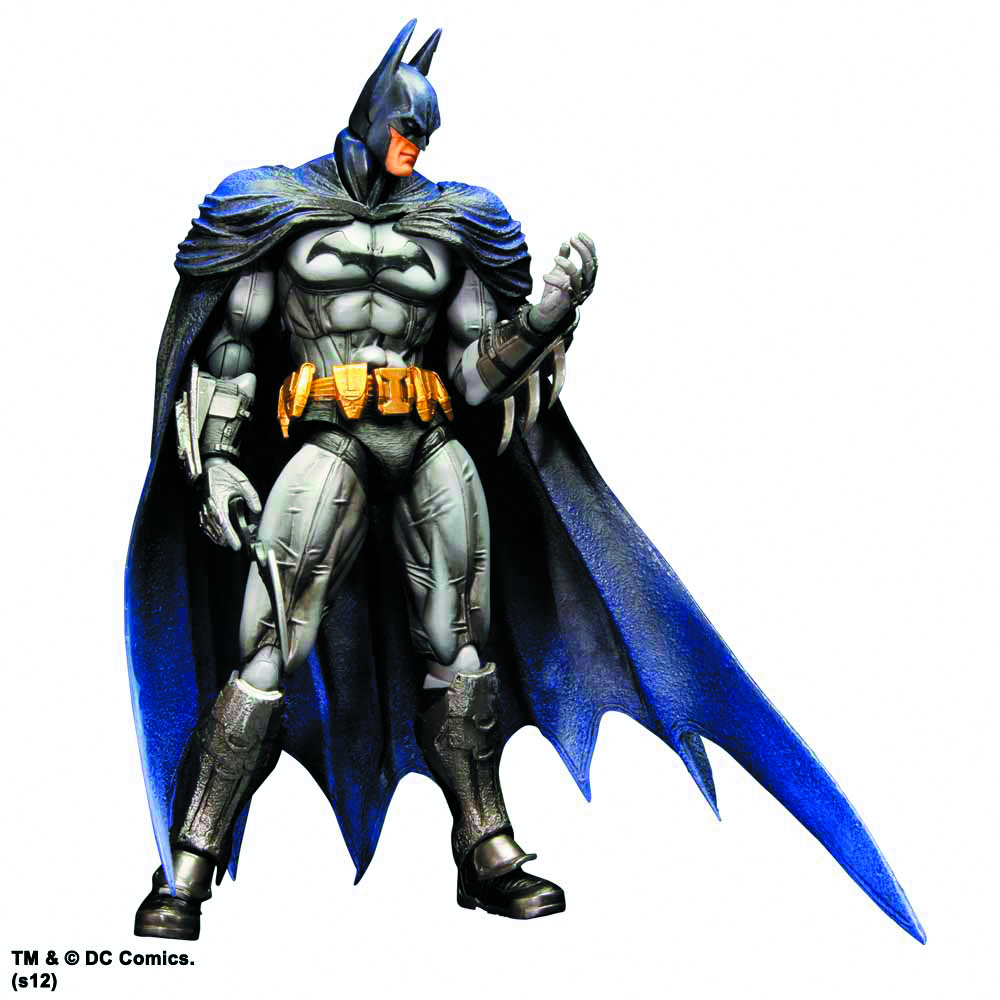 BATMAN ARKHAM CITY PLAY ARTS KAI BATMAN AF