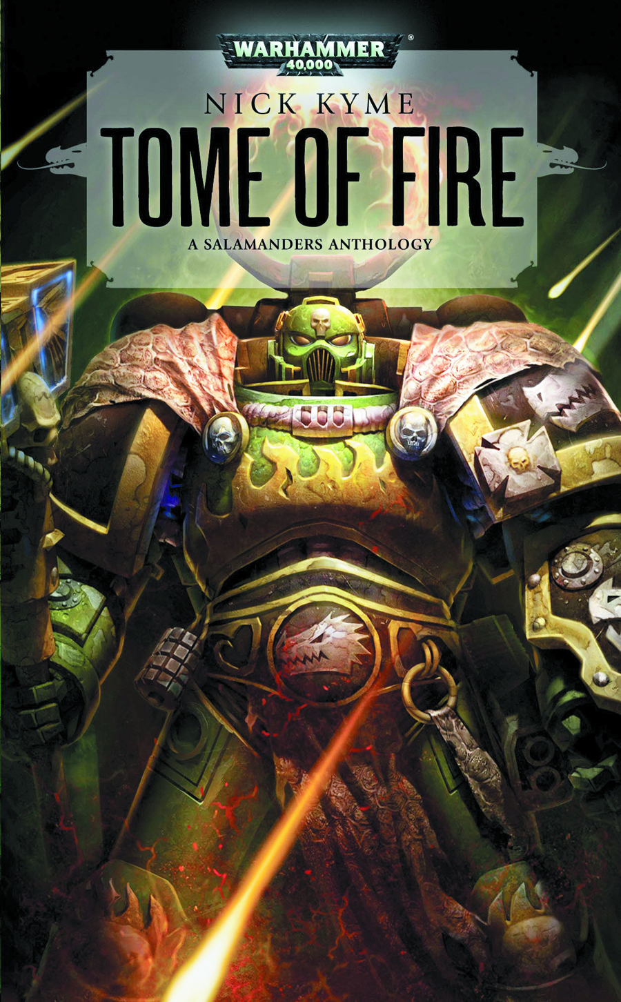 WARHAMMER 40K TOME OF FIRE MMPB
