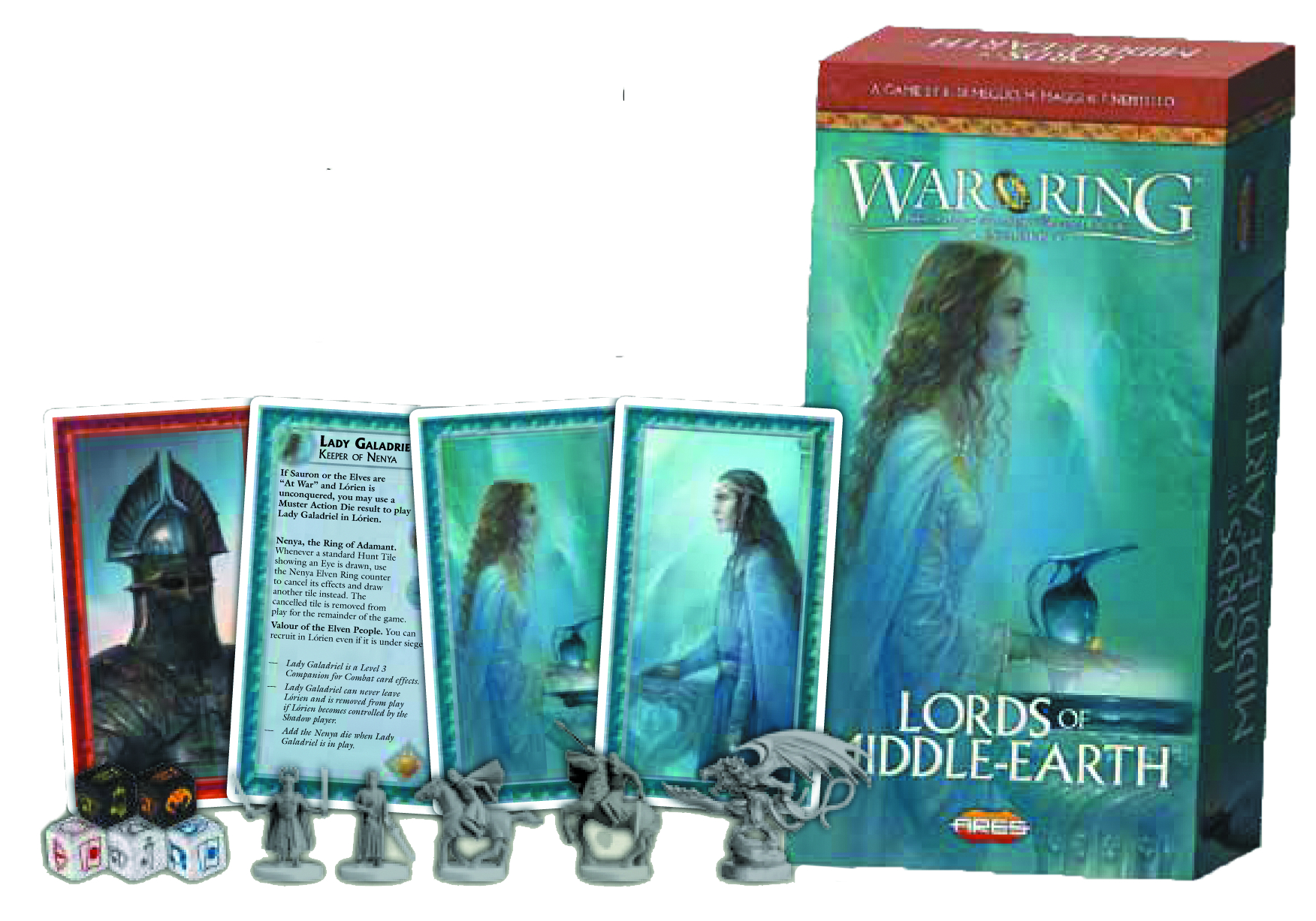 LOTR WAR OF THE RING LORDS OF MIDDLE EARTH EXP