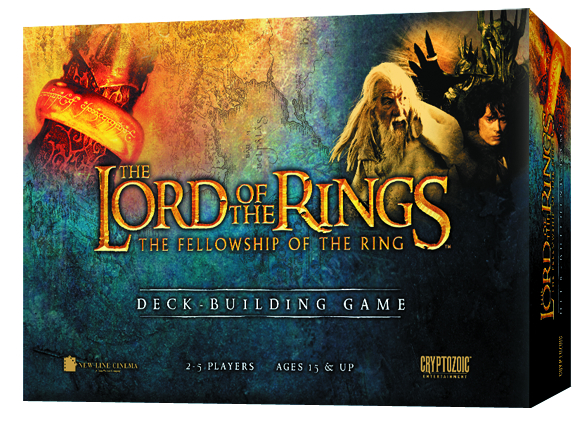LOTR FELLOWSHIP OF THE RING DECK BUILDING GAME