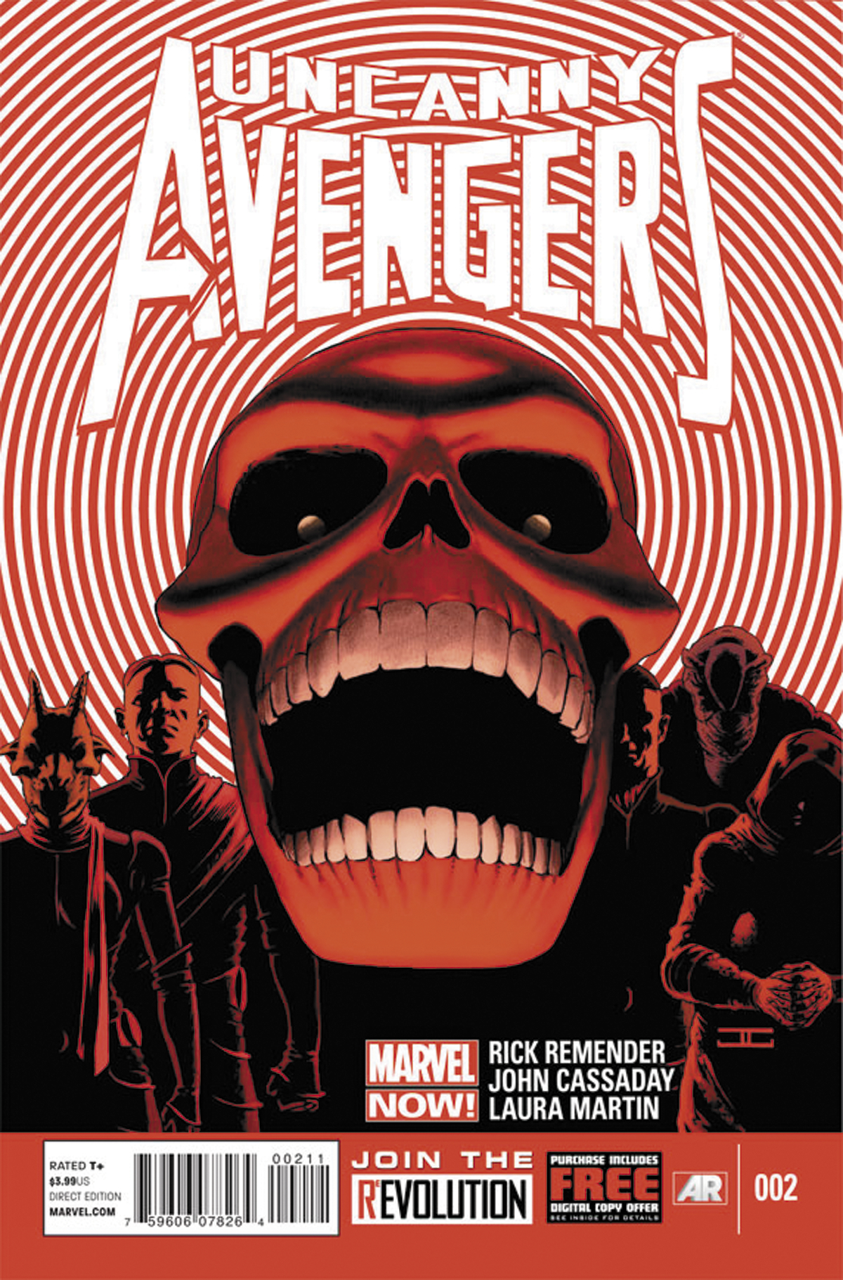 UNCANNY AVENGERS #2 NOW