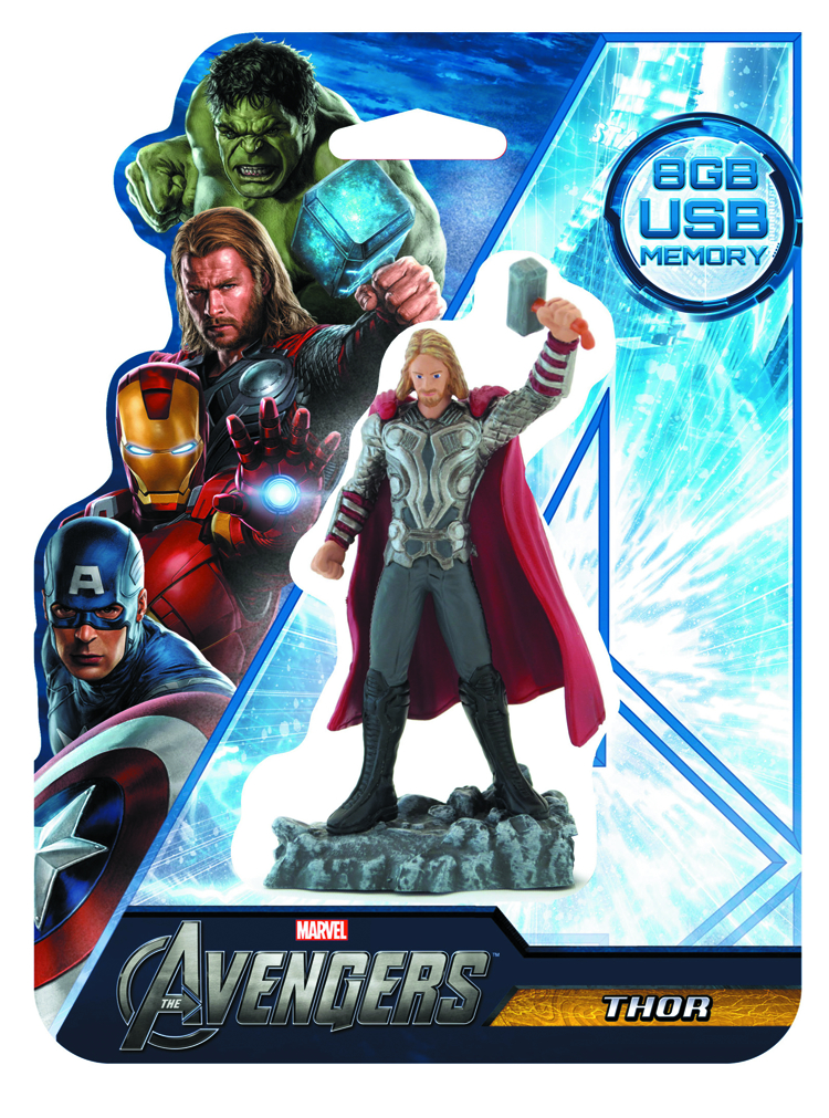 AVENGERS THOR 8GB FIGURAL FLASH DRIVE
