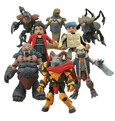 BATTLE BEASTS MINIMATES SERIES 1 ASST