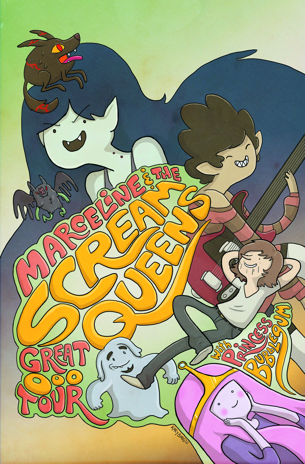ADVENTURE TIME MARCELINE SCREAM QUEENS #1 2ND PTG
