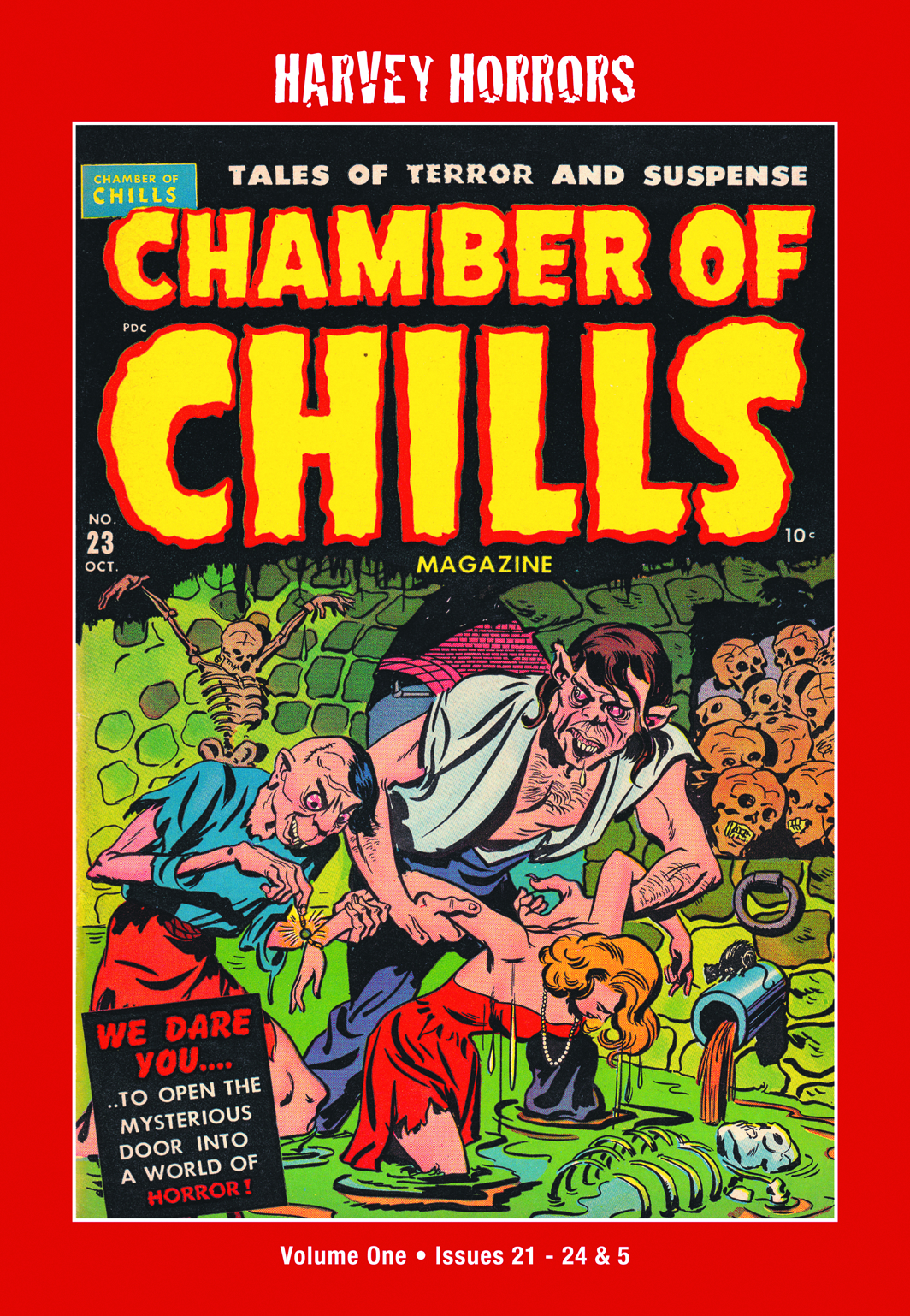 HARVEY HORRORS CHAMBER OF CHILLS SOFTIE TP VOL 01