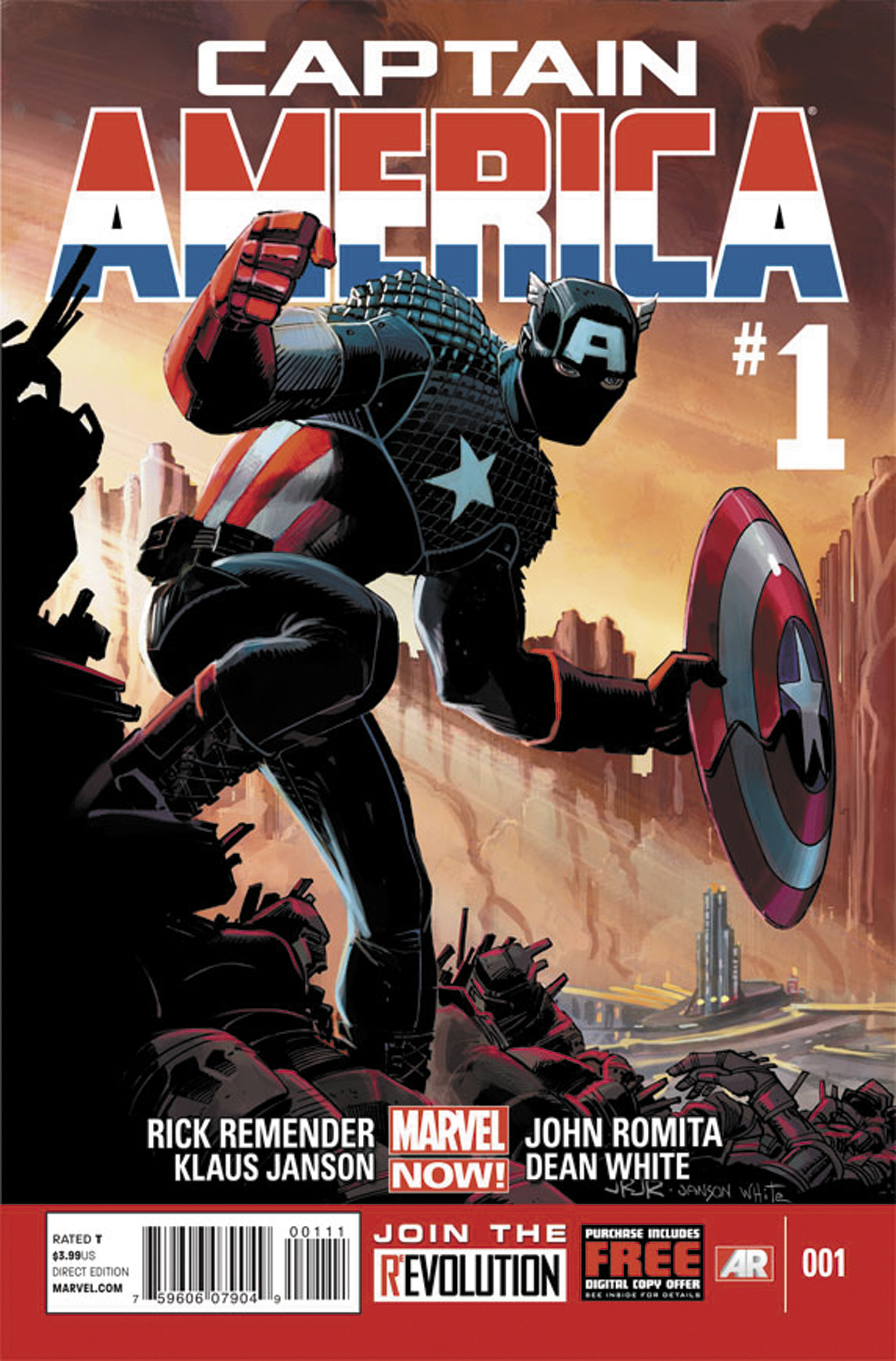CAPTAIN AMERICA #1 NOW