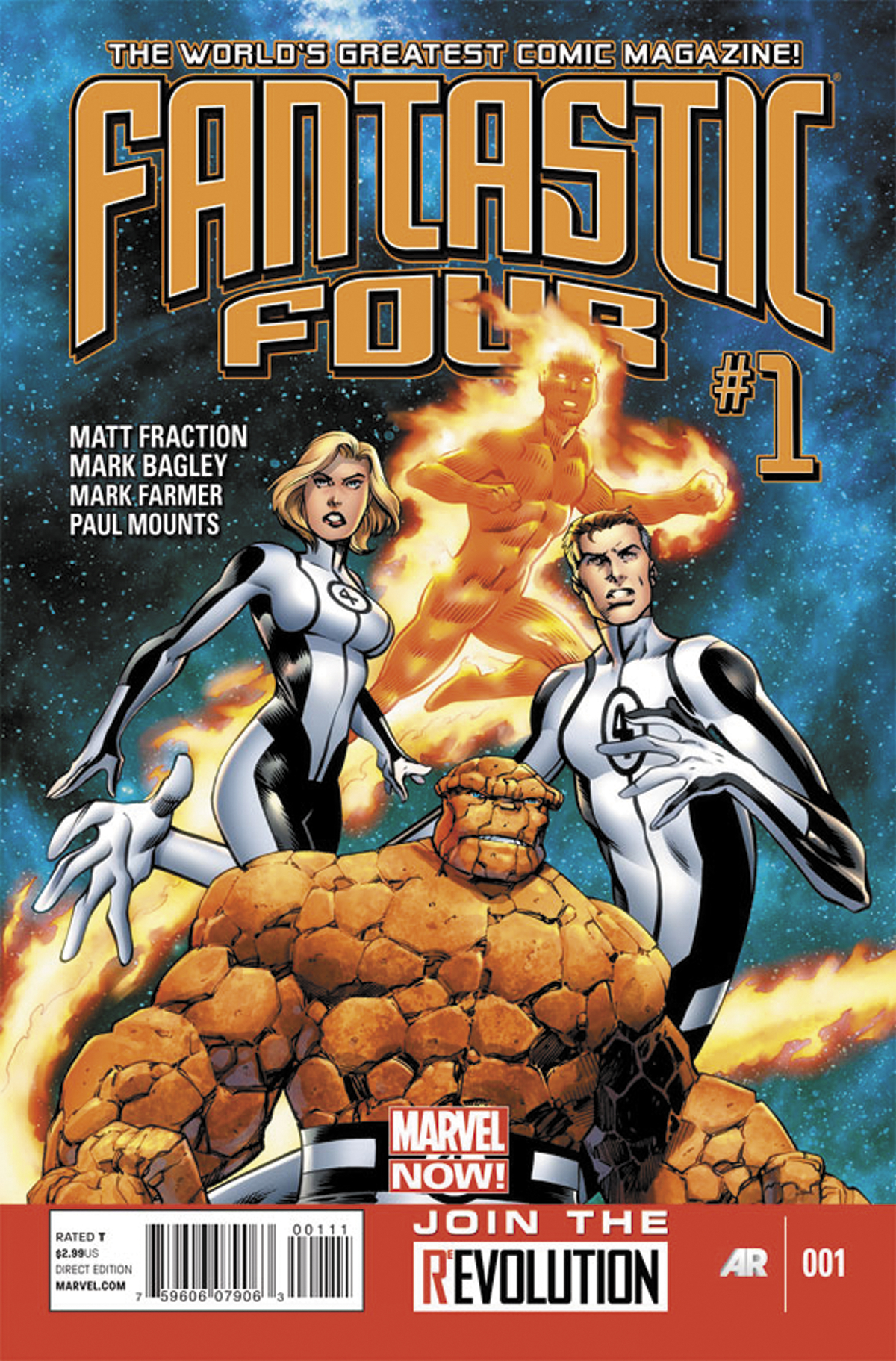 FANTASTIC FOUR #1 NOW
