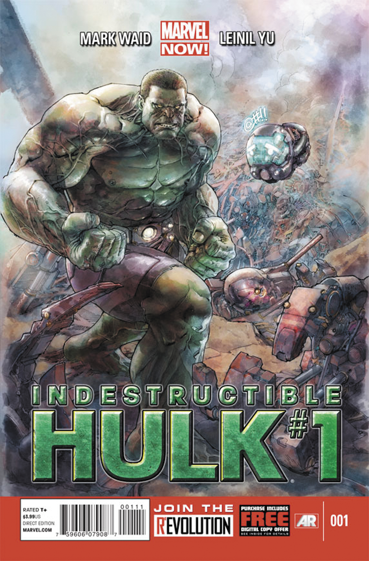 INDESTRUCTIBLE HULK #1 NOW