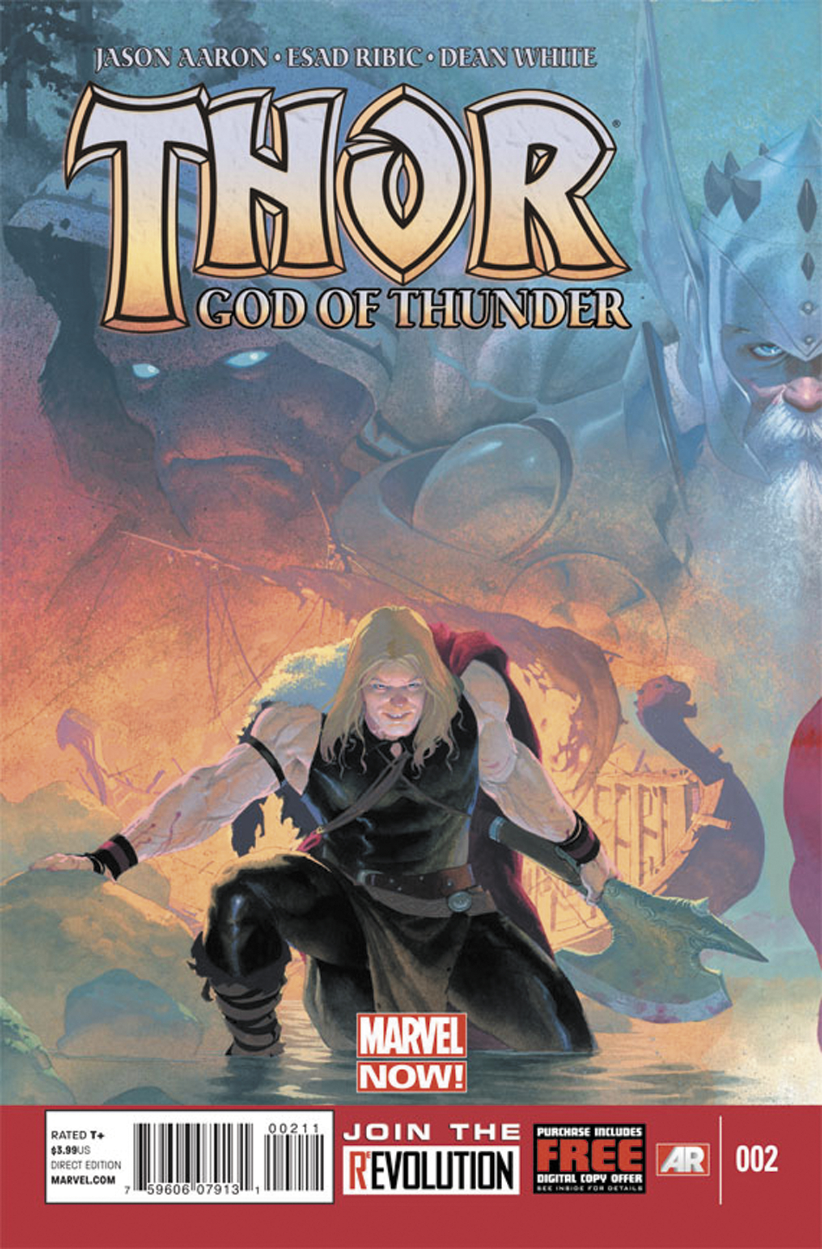 THOR GOD OF THUNDER #2 NOW