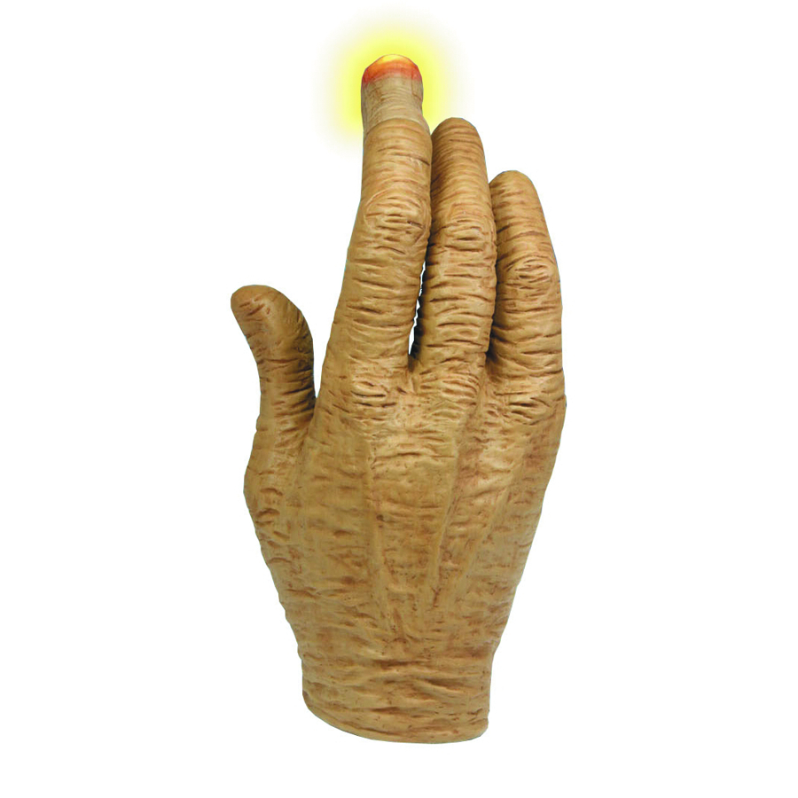 E T HAND W/LIGHTED LED FINGER