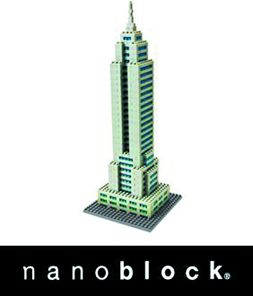 NANOBLOCK EMPIRE STATE BUILDING SET