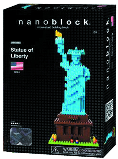 NANOBLOCK STATUE OF LIBERTY SET