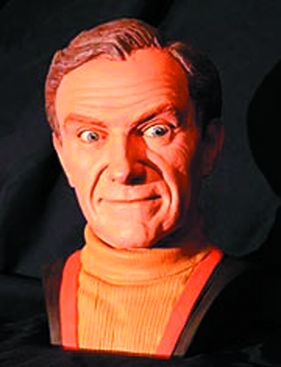 LOST IN SPACE DR ZACHARY SMITH 3/4 SCALE BUST