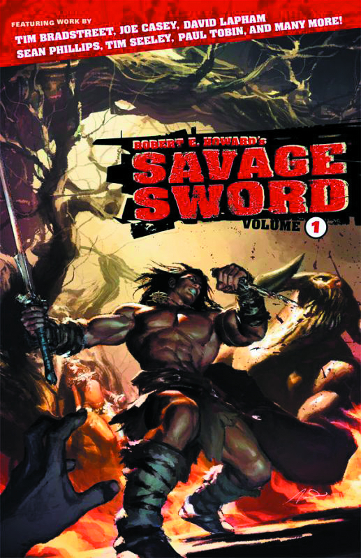 ROBERT E HOWARDS SAVAGE SWORD TP VOL 01