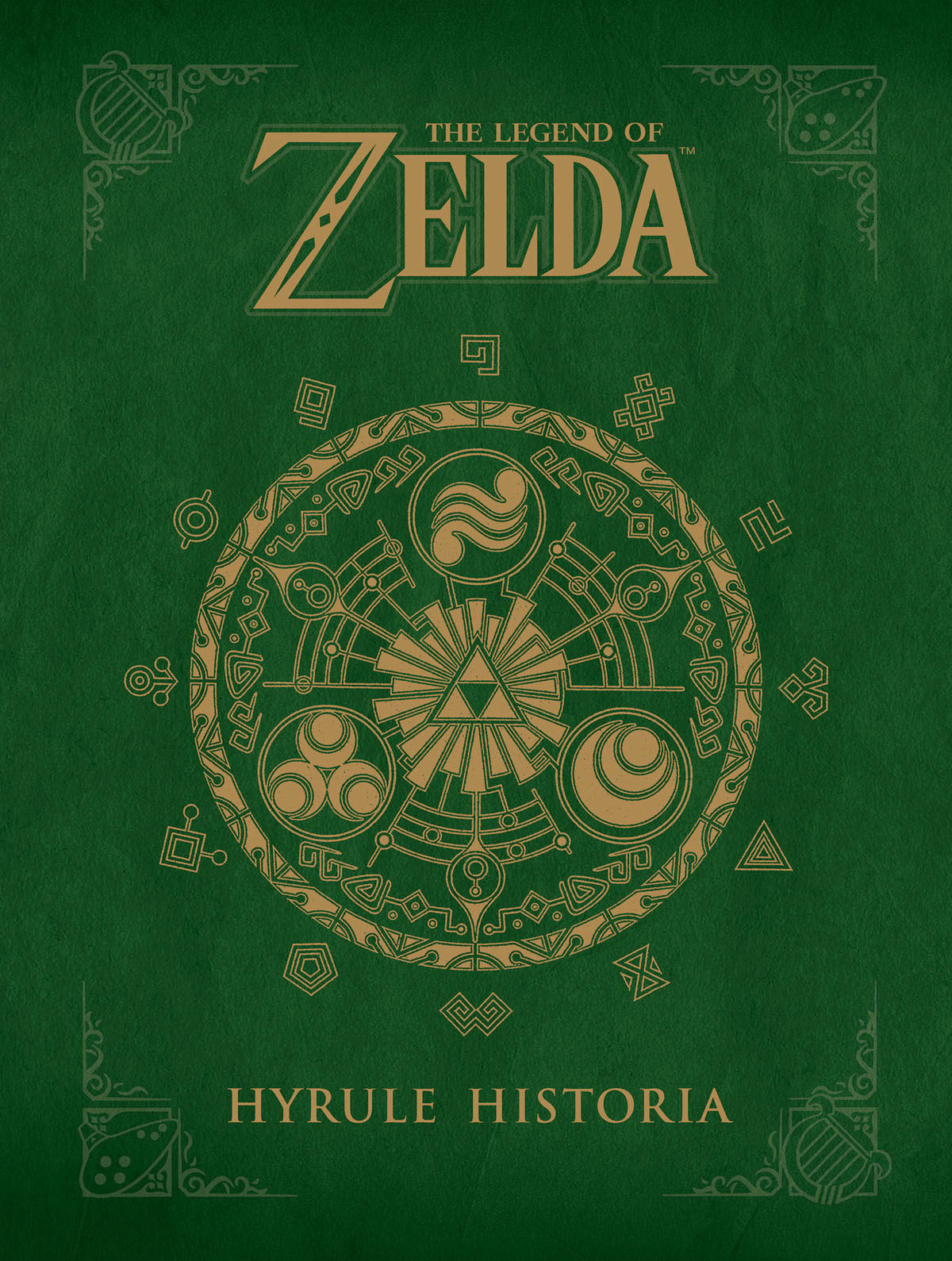 (USE NOV178309) LEGEND OF ZELDA HYRULE HISTORIA HC