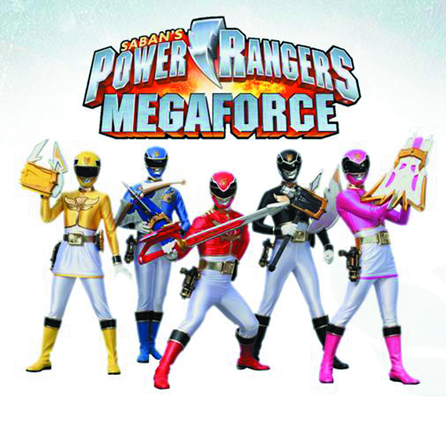 POWER RANGERS MEGAFORCE BASIC AF ASST