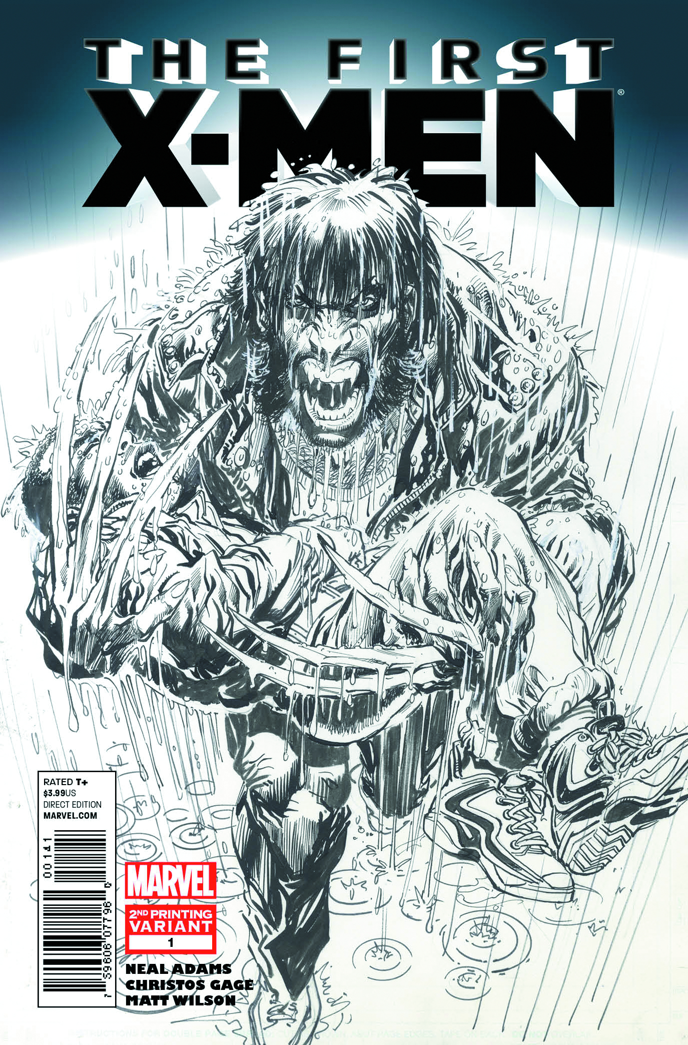 FIRST X-MEN #1 (OF 5) 2ND PTG NEAL ADAMS VAR