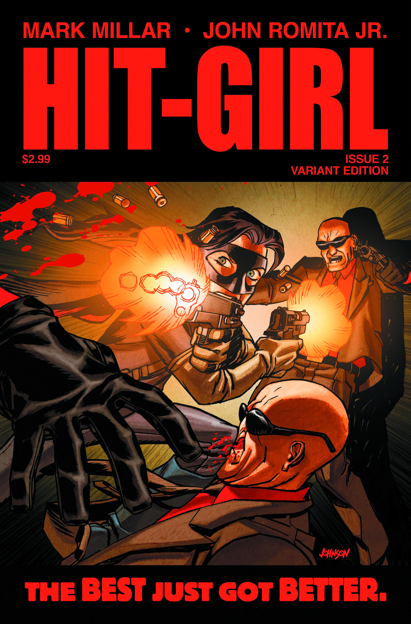 HIT-GIRL #2 (OF 5) 2ND PTG JRJR VAR (MR)