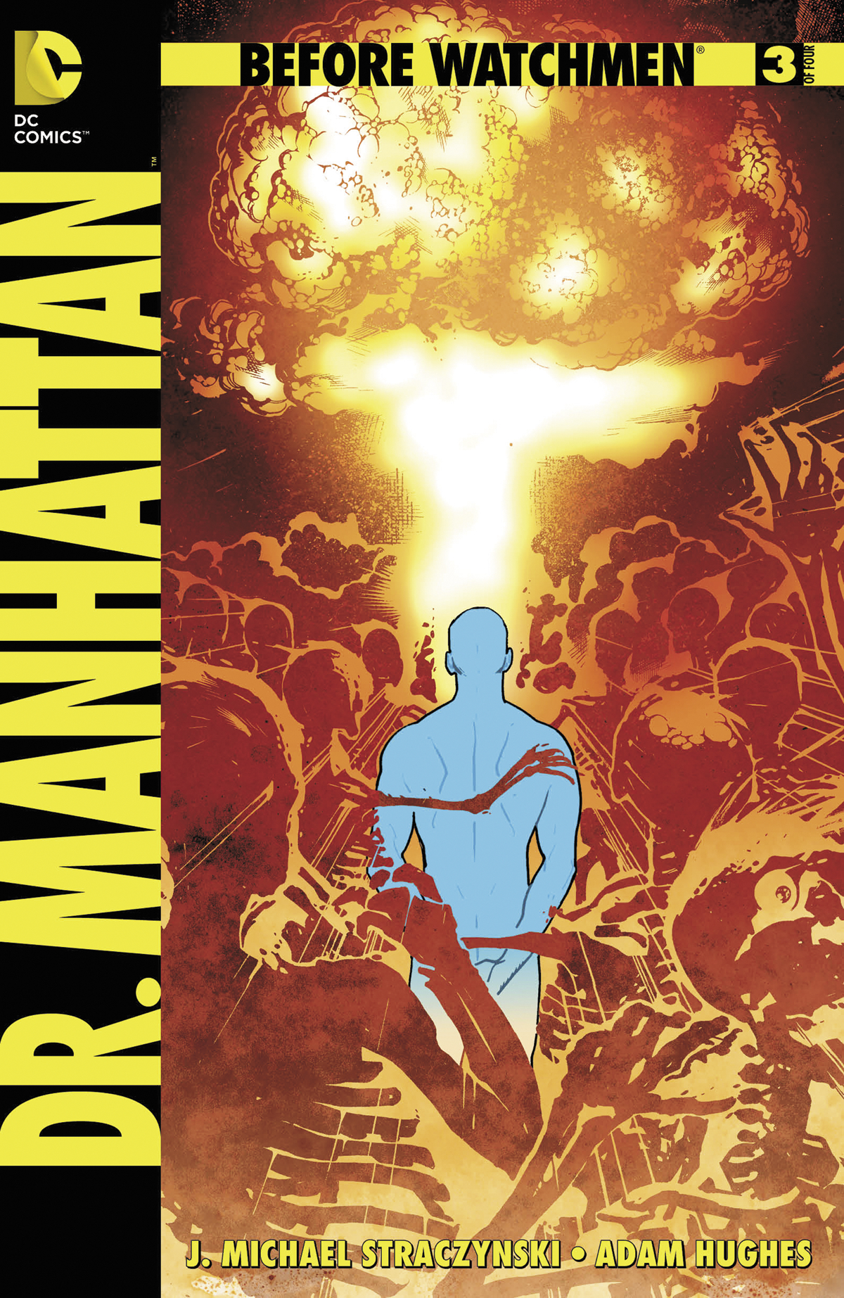 BEFORE WATCHMEN DR MANHATTAN #3 (OF 4) COMBO PACK