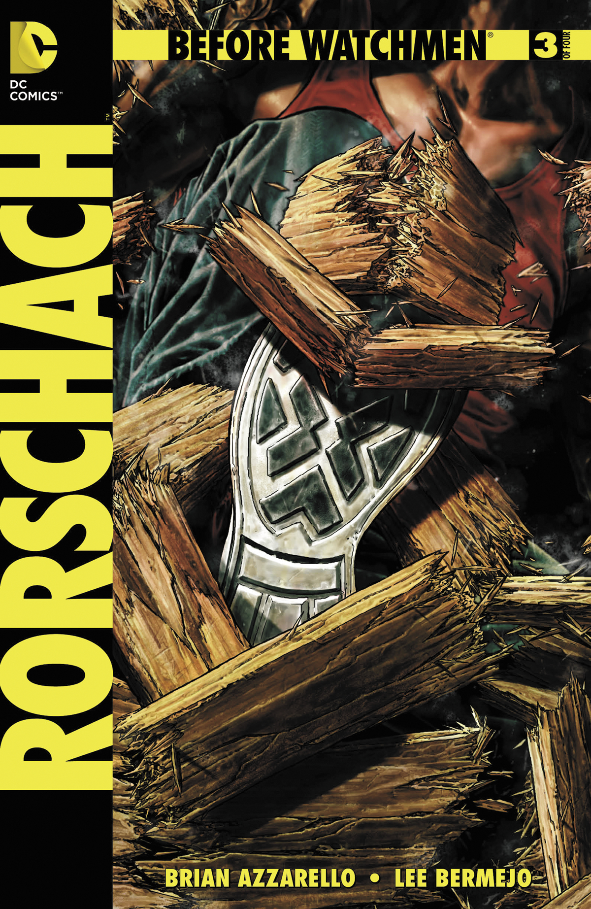 BEFORE WATCHMEN RORSCHACH #3 (OF 4) COMBO PACK